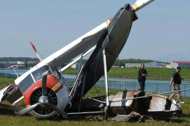 de Havilland Beaver Crash