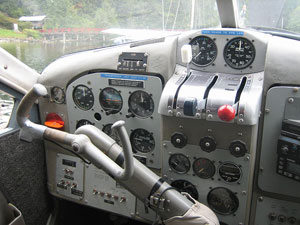 de Havilland Beaver Cockpit
