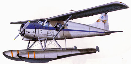 de Havilland Beaver Drawing