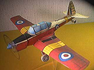 another de Havilland DHC-1 Chipmunk paper model
