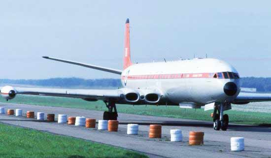 First commercial jet airliner DeHavilland Comet