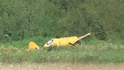 de Havilland Tiger Moth Crash