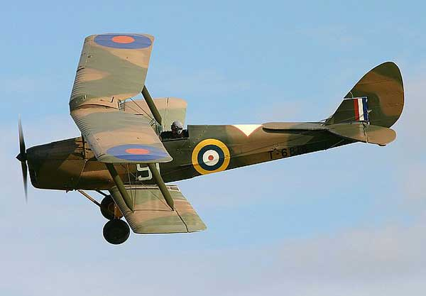 de Havilland Tiger Moth camo