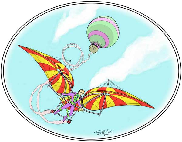 ornithopter illustration