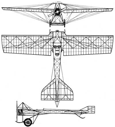 3 View of the Deperdussin