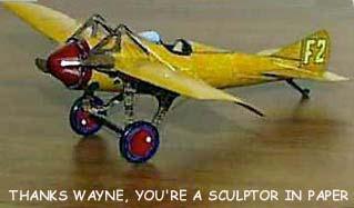 Deperdussin 1913 Racer paper model