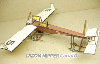Dixon Nipper paper model