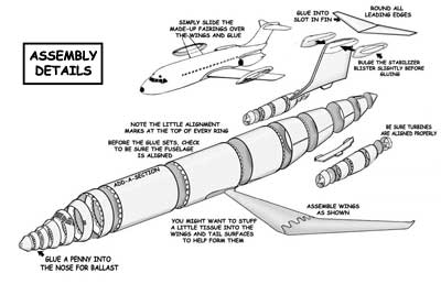 Assembly Details for the DC-9