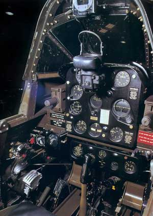 Douglas SBD Dauntless Cockpit
