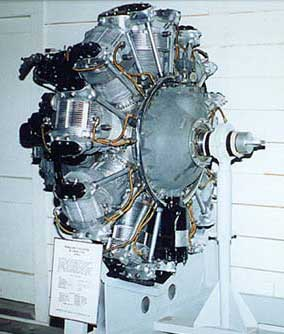 Douglas SBD Dauntless Engine