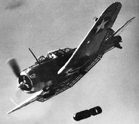The Douglas Dauntless Divebomber