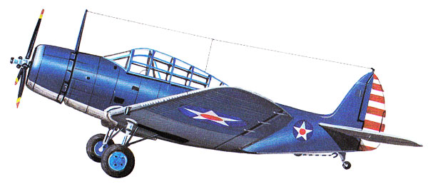 Douglas TBD Devastator Drawing