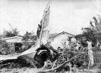 Douglas F4D Skyray Crash