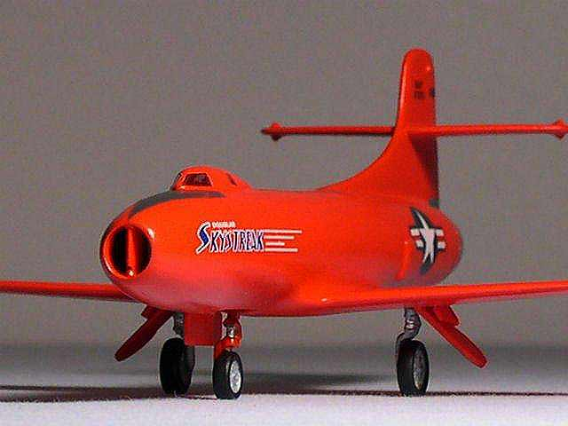 Douglas D558I Skystreak  red model