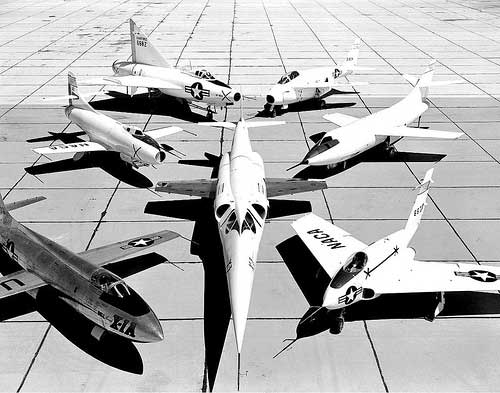 DIsplaying a few X-planes