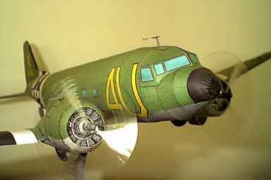 Skytrain C-47 paper model