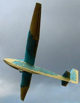 Duster Model In Flight