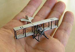Mini Model Eardley Billings Biplane