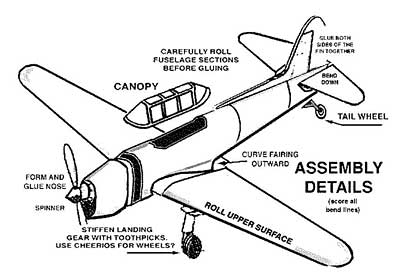 Assembly Details Fairchild PT-26