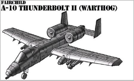 Aarons warthog model vector drawing