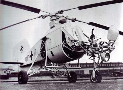 سؤال عن المروحيات  Flettner-282