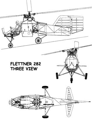 Fl-282 three Vu