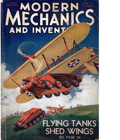 Flying Tank cover story