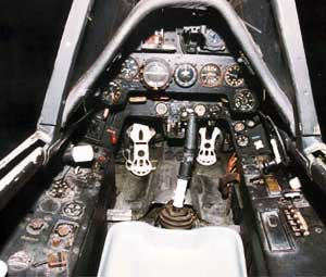 Cockpit of the Fw 190