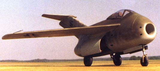 FW Ta-183 Huckebein giant model