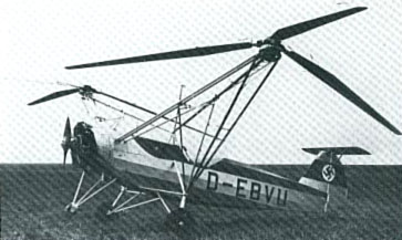 Fw-61 at rest