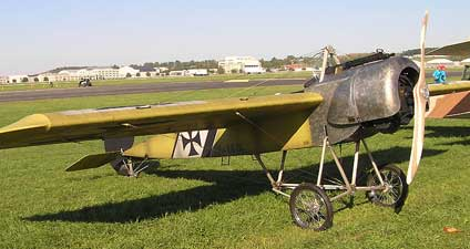The Eindecker aka EIII Fokker Scout cause of the Fokker Scourge