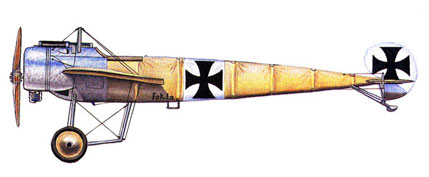 Profile of a Fokker E3