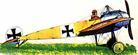 Fokker E3 Illustration