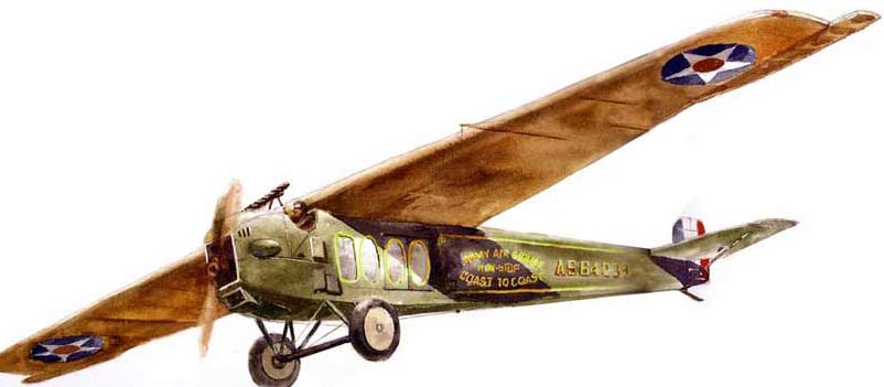 Fokker T-2 US Army Air Service-non-stop flight cross country