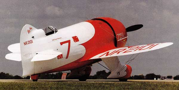 Gee Bee Racer Parked