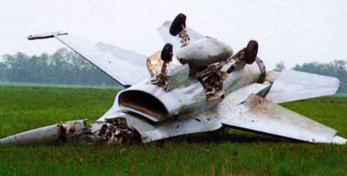 F-16 Falcon Crash