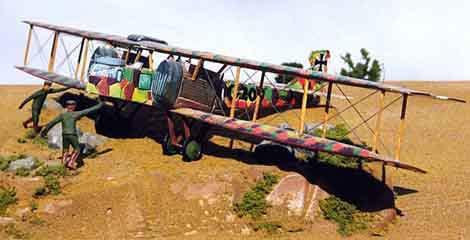 Gotha Bomber paper model airplane
