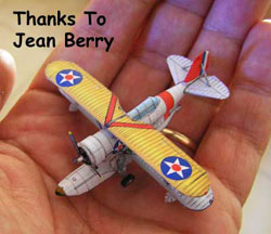 1/200th scale Grumman Duck Model Submitted by Jean Berry
