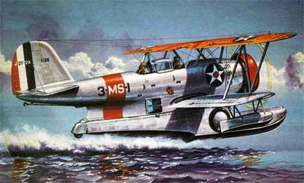illustration for Grumman Duck paper model