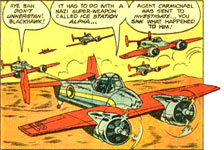 XF5  Skyrocket comic