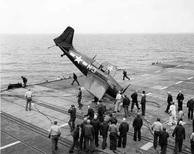 Grumman F4F Wildcat Crash