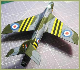 Hawker Hunter Fiddlersgreen Modeling Madness 2010 Winner