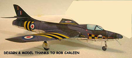 Rob's Hawker Hunter