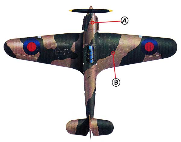 Hawker Hurricane Callout Top