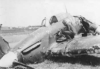 Hawker Hurricane Crash
