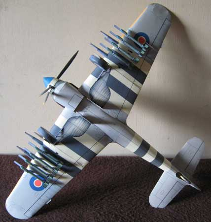 Hawker Typhoon's bottom