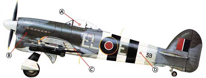 Hawker Typhoon Callout