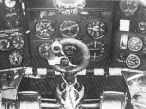 Hawker Typhoon's cockpit