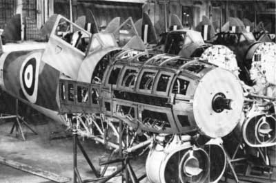 Hawker Typhoon Factory