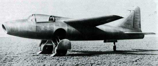 He-178 first jet plane
